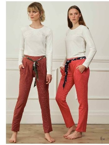 Feyza 3591 Üçlü Pijama Takımı