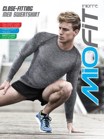 Miorre Active Wear Uzun Kollu Fonksiyonel T-shirt