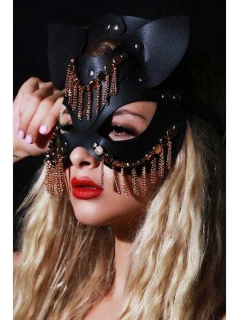 Mite Love Fantazi Deri Maske Oriental