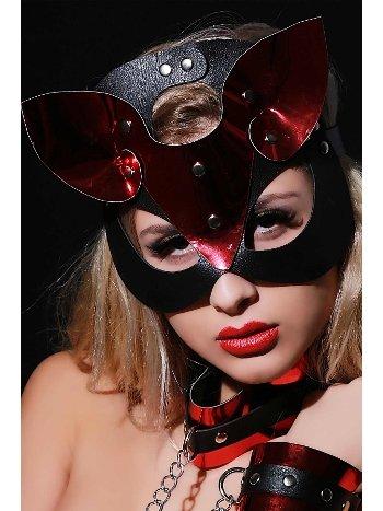 Mite Love Fantazi Deri Maske Parcia