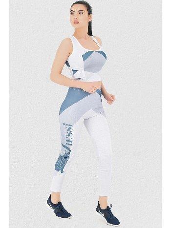 Mite love Fitness Takım Tayt Parlament Mavi