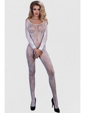 Mite Love Vücut Çorabı Beyaz Fantezi iç Giyim