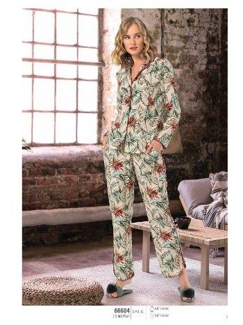 NBB 66604 Önden Düğmeli Pijama Takım
