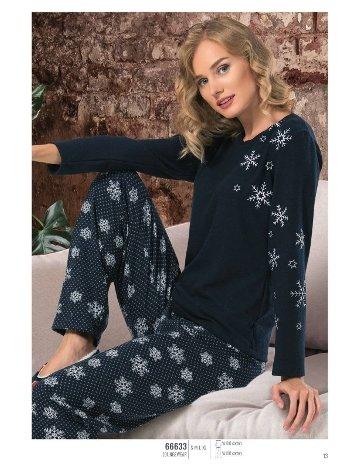 NBB 66633 Uzun Kol Pijama Takım