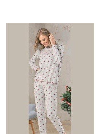 NBB 66643 Yıldızlı Bayan Pijama Takım