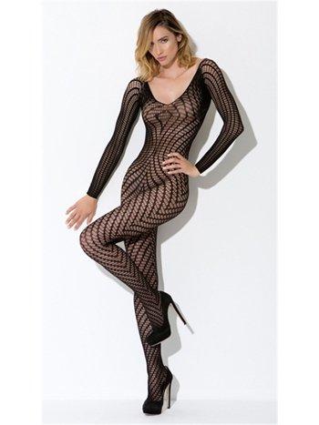 Nightlight Uzun Kollu Vücut Çorabı 5017