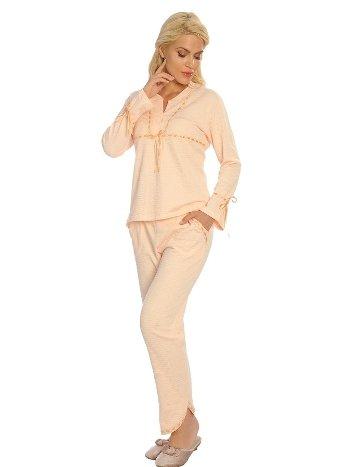 Sistina 1568 Penye Çeyizlik Pijama Takım