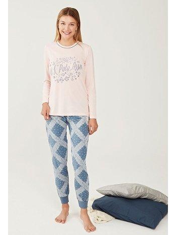 US Polo 16248-2 Yuvarlak Yaka Pijama Takımı