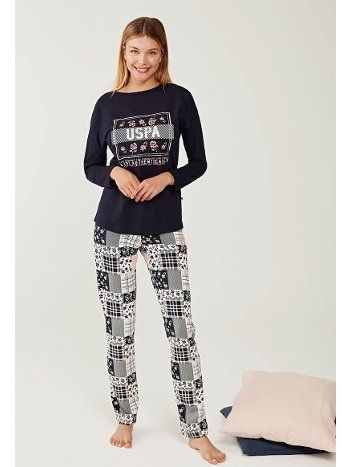 US Polo 16249 Pijama Takımı