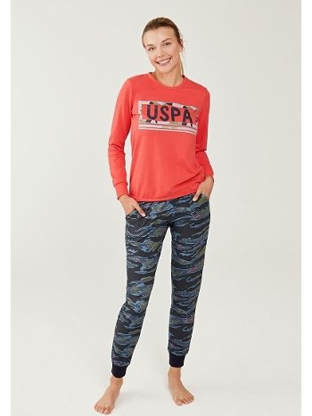 US Polo 16266 Yuvarlak Yaka Pijama Takımı