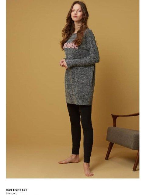 Tayt Pijama Takımları Catherine's 1501 Tayt Takımı