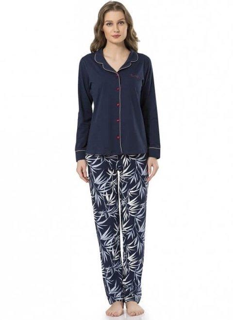 Pierre Cardin Düğmeli Pijama Takımı