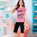 Kız Çocuk Kapri Takım Yuppi HMD 6115