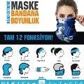 Maske Bandana Boyunluk: Head Extreme 12 Fonksiyon FireGothic
