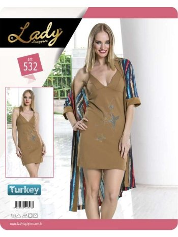 2 li Sabahlık Set Lady 532