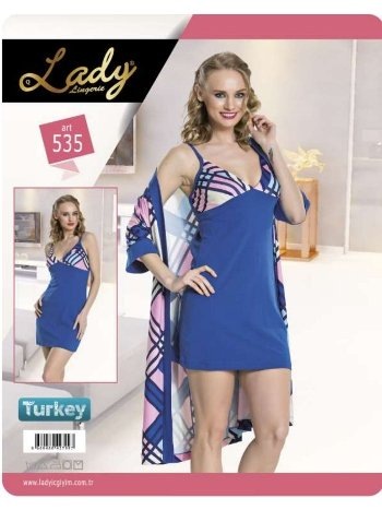 2 li Sabahlık Set Lady 535