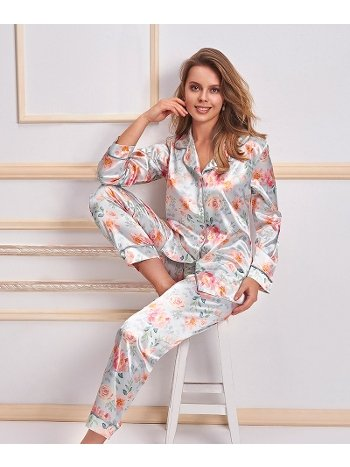 2 li Saten Pijama Takımı Nurteks Nurteks 5654