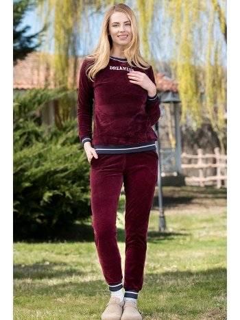 2'li Kadife Pijama Takımı Yeni İnci BPJ1658