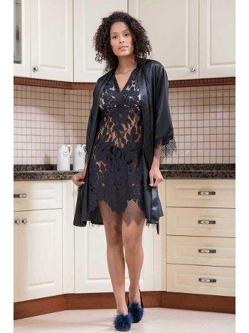 2'li Polyamide Kadın Pijama Takımı Yeni İnci BPJ1598