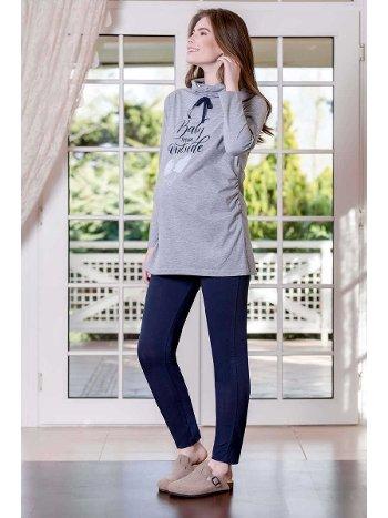 2'li Süprem Likralı Kadın Pijama Takımı Yeni İnci BPJ1628