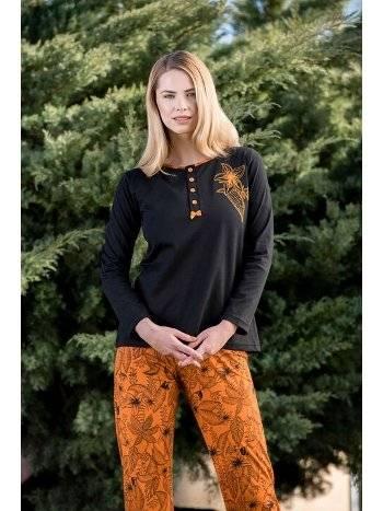 2'li Viskon Kadın Pijama Takımı Yeni İnci BPJ1568