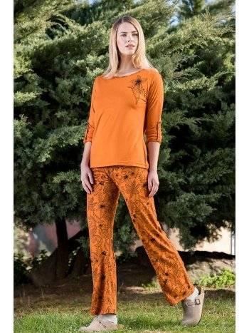 2li Viskon Kadın Pijama Takımı Yeni İnci BPJ1572