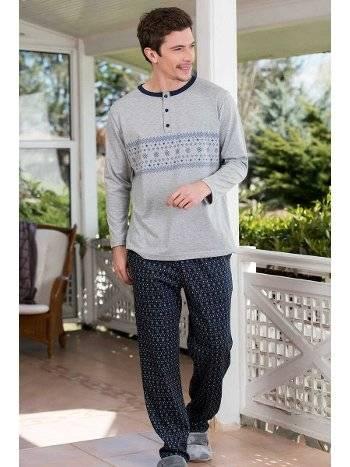 2'li Viskon Süprem Erkek Pijama Takımı Yeni İnci EPJ718