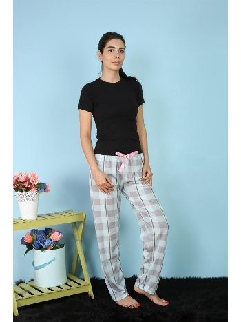 Akbeniz Bayan Tek Alt Pijama 27150