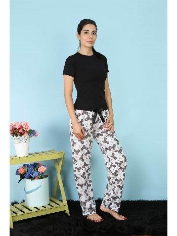 Akbeniz Bayan Tek Alt Pijama 27156