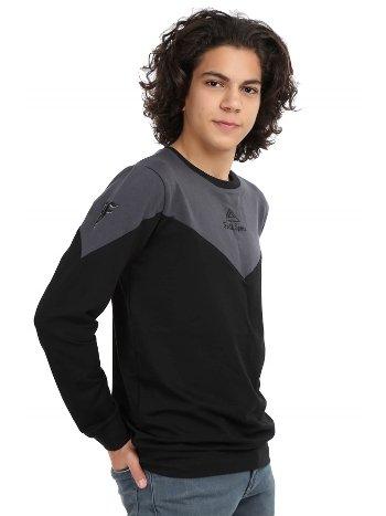 Akbeniz Erkek Siyah Antrasit Sweatshirt 2758