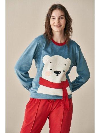 Ayıcık Pijama Takım Feyza 3966