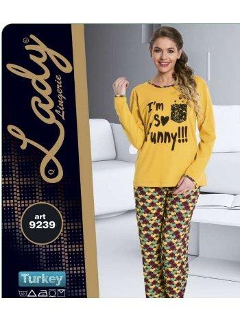Bayan Pijama Takım Lady 9239