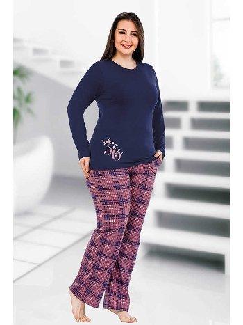 Berland 3092 Büyük Beden Bayan Pijama Takımı