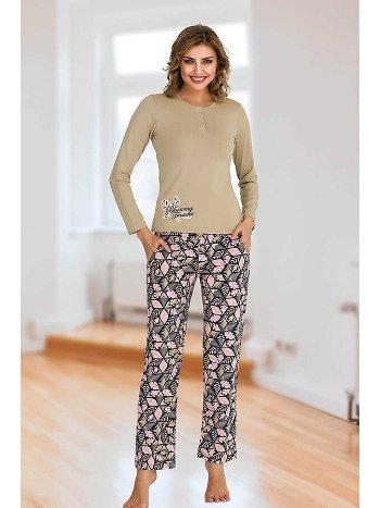 Berland 3112 Bayan Pijama Takımı