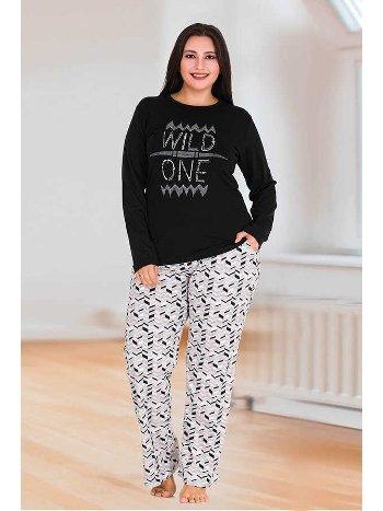 Berland 3124 Büyük Beden Bayan Pijama Takımı