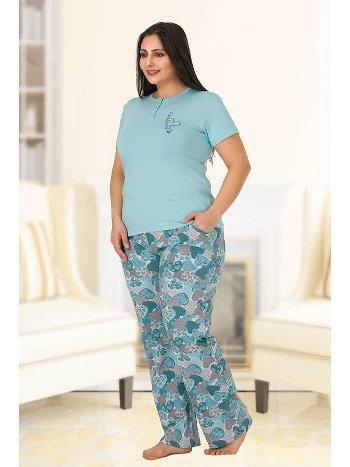 Berland 3145 Büyük Beden Bayan Pijama Takımı