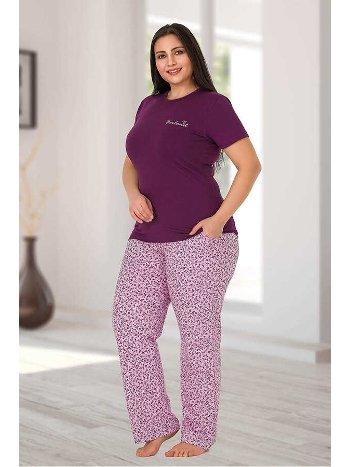 Berland 3166 Büyük Beden Bayan Pijama Takımı