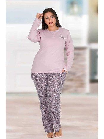 Berland 3176 Büyük Beden Bayan Pijama Takımı