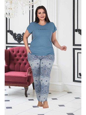 Berland 3181 Büyük Beden Bayan Pijama Takımı