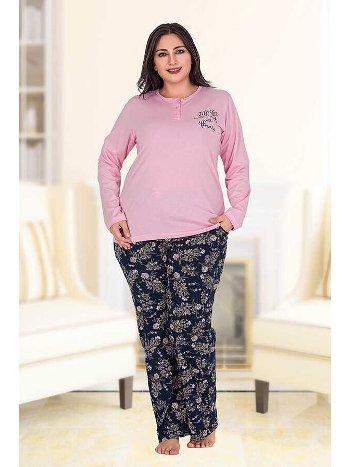 Berland 3183 Büyük Beden Bayan Pijama Takımı