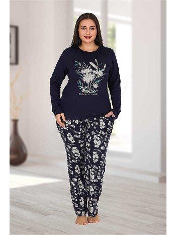 Berland 3184 Büyük Beden Bayan Pijama Takımı
