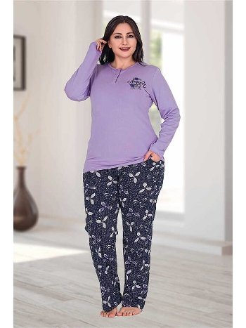 Berland 3204 Büyük Beden Bayan Pijama Takımı