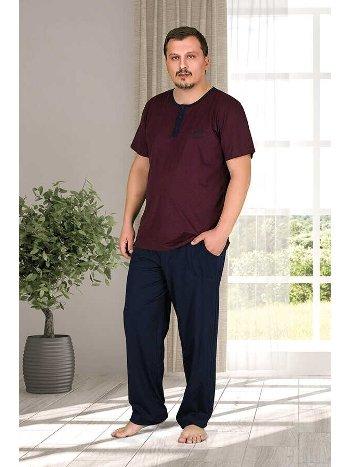 Berland 3793 Büyük Beden Erkek Pijama Takımı