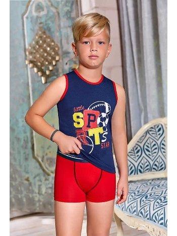 Berrak 5363 Erkek Çocuk Boxer Takım