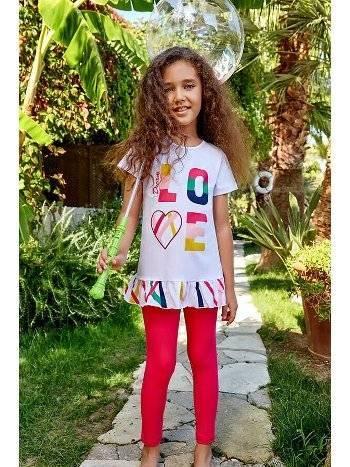Berrak 5522 Kız Çocuk Tayt Takım