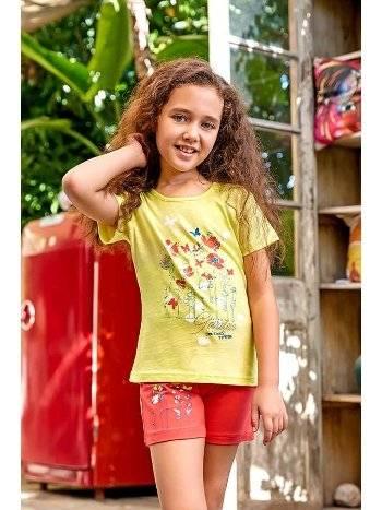 Berrak 5525 Kız Çocuk Şort Takım