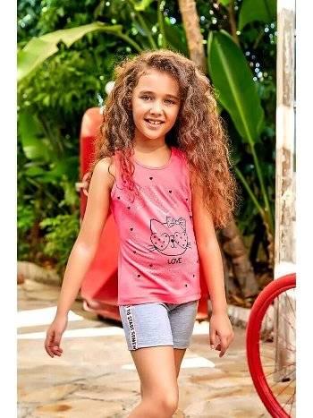 Berrak 5532 Kız Çocuk Şort Takım