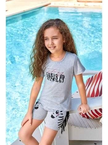Berrak 5533 Kız Çocuk Şort Takım