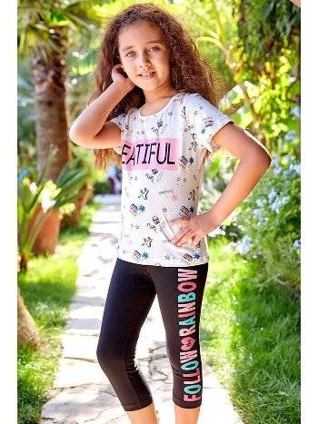 Berrak 5536 Kız Çocuk Tayt Takım