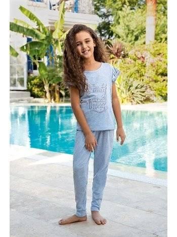 Berrak 940 Kız Çocuk Pijama Takımı
